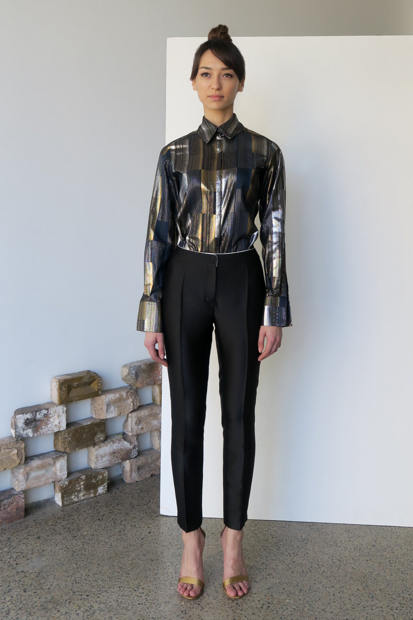 Aeropshere Metallic Shirt | CARL KAPP