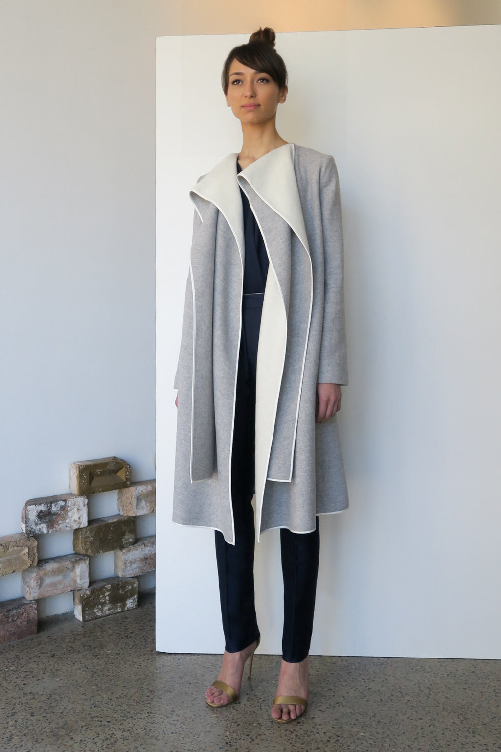 Crayon Wool Coat | CARL KAPP