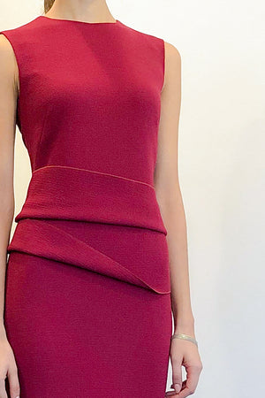 Luna Dress Raspberry | CARL KAPP