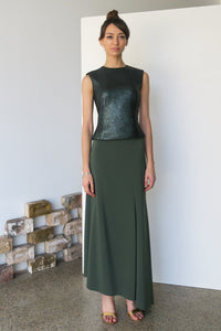 Mail Top Metallic Green | CARL KAPP