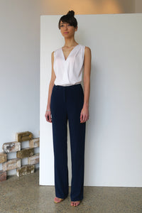 Relaxed Trousers French Navy | CARL KAPP
