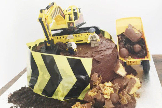Tonka Truck Construction Cake
