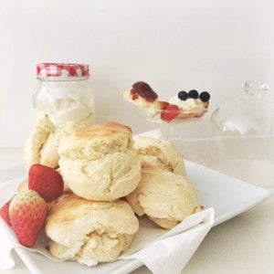 Scones and Devon Cream