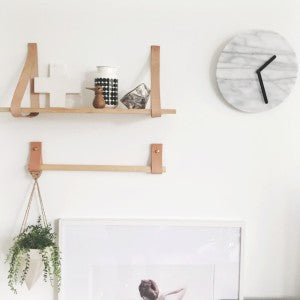 Crate and Barrel Marble Clock
