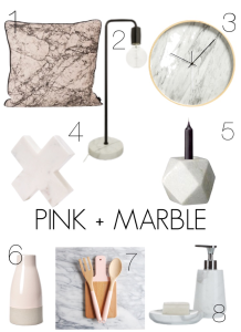 pink +Marble
