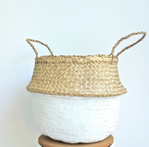 Curated Made Sea Grass Basket