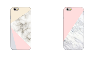 Pink + Marble look iPhone cases from nouvellevie online.