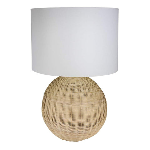 Aki Rattan Table Lamp