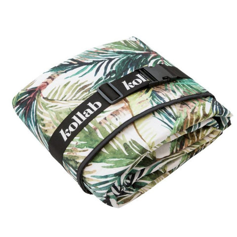 Picnic Mat Green Palm 2m x 2m