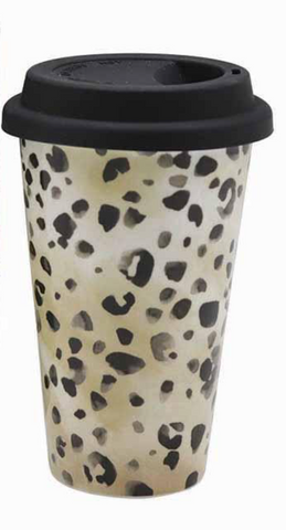 ML Leopard Travel Mug