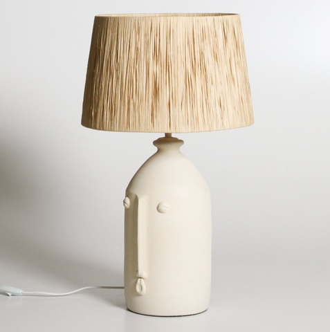 IL Salvador Table Lamp Off White
