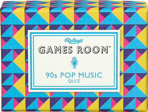 90's Pop Music Quiz