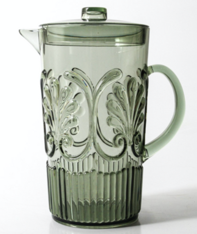 Indigo Loves Flemington Acrylic Jug - Green