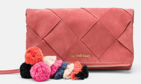 TWG Tejer Clutch Rose
