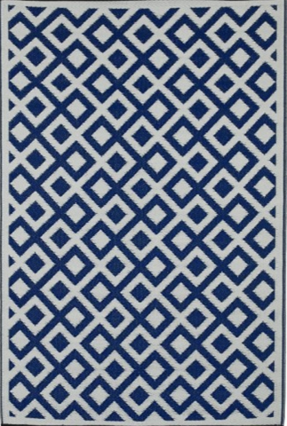 Marina Indigo and Blue Rug