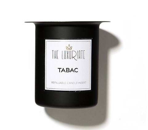 The Luxuriate Candle Insert Tabac