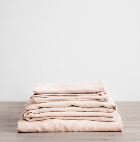 Cultiver - Blush Linen Sheet Sets