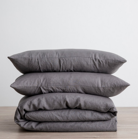 Cultiver - Charcoal Duvet Cover Sets