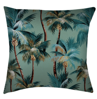 ETP Palm Trees Lagoon Cushion