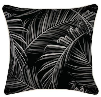 ETP Midnight Palms Cushion