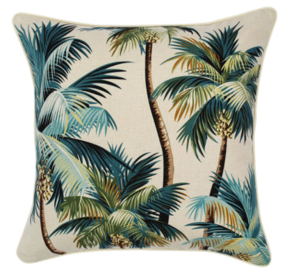 ETP Palm Trees Natural Cushion