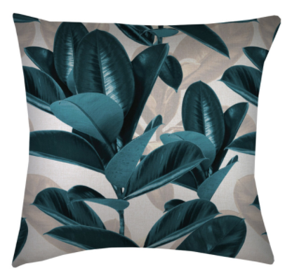 ETP Lux Teal Cushion