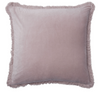 Velvet Fringe Blush Cushion 60x60cm
