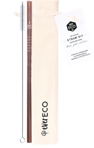 EE ON-THE-GO STRAW KIT ROSE GOLD