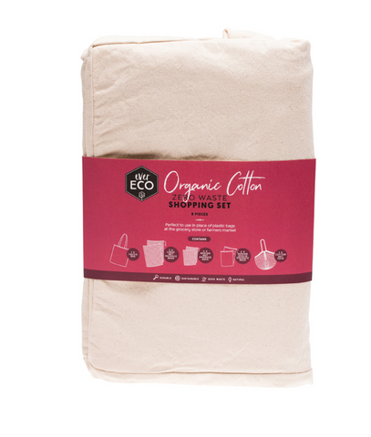 EE ORGANIC COTTON ZERO WASTE SHOPPING SET