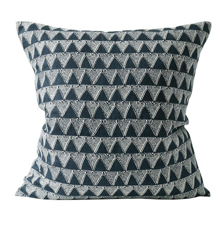Bantu Indian Teal Cushion