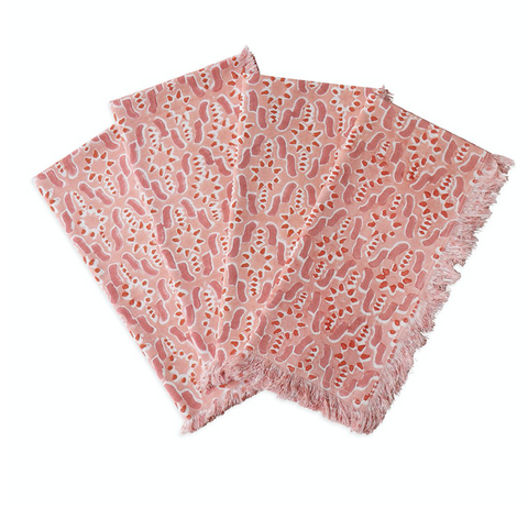 Fez Guava cotton napkins (set of 4)