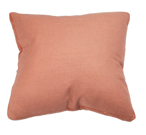 CM Essential Linen Rose Ginger Cushion 60x60