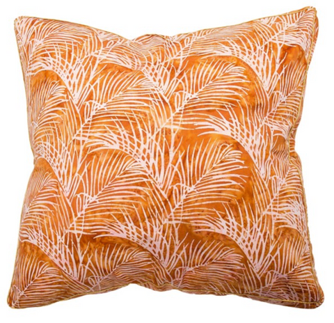 Cm Quince Bangalow Palm Batik Cushion
