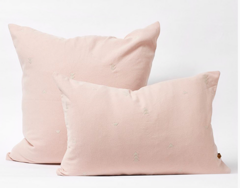 Vintage Wash Cushions Dusty Pink