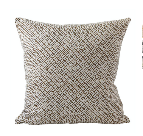Walter G Sonora Tobacco Cushion