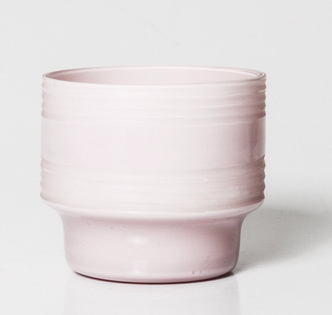 Leia Glass Votive Medium - Blush