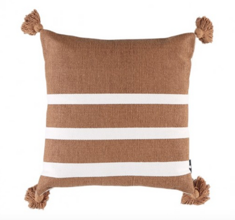 Avalon Tan Cushion 45cm