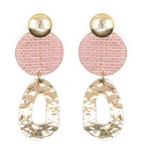 Soli & Sun Georgine Earrings Pink