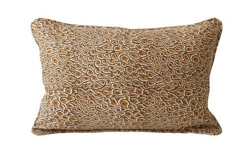 Walter G Uzes Rust cushion 30cm x 45cm