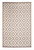 Aztec Beige and White