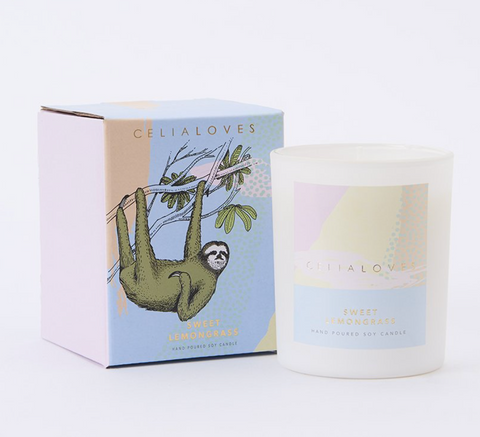SWEET LEMONGRASS CANDLE