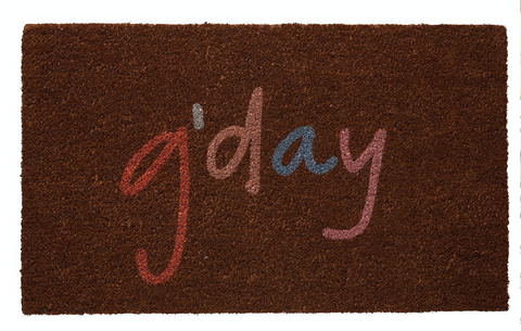 Reggie Door Mat - Pre order *arrival late March/early April*