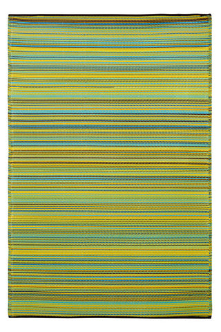 Cancun Lemon and Green Rug