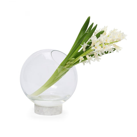 Buddy Vase Big Blanc