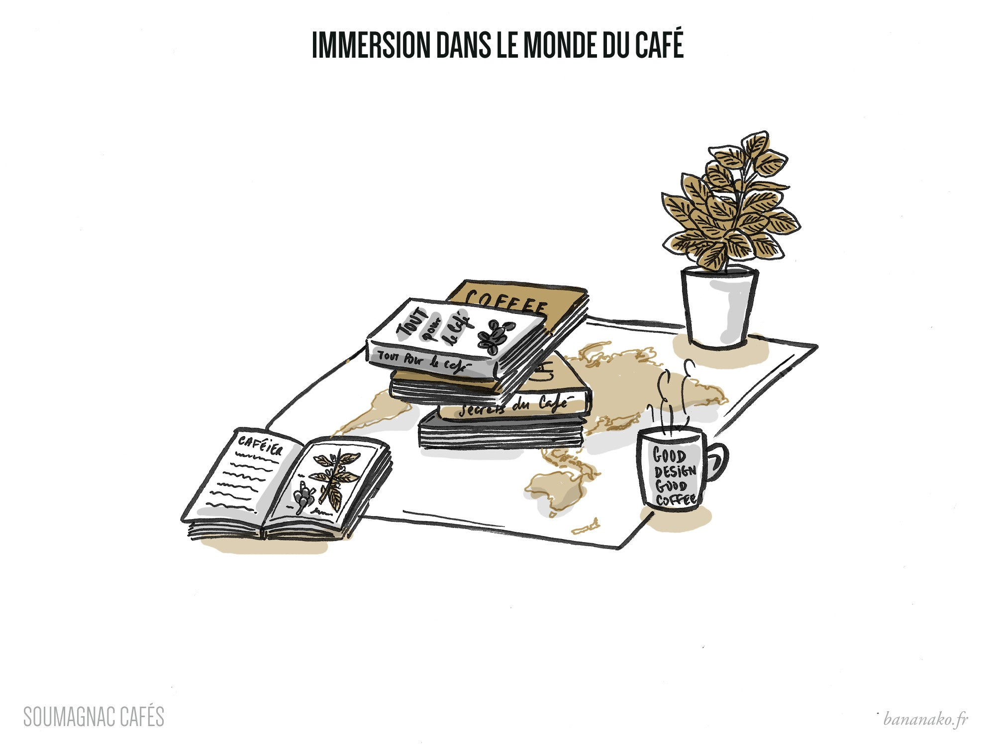 Soumagnac Cafés - Immersion