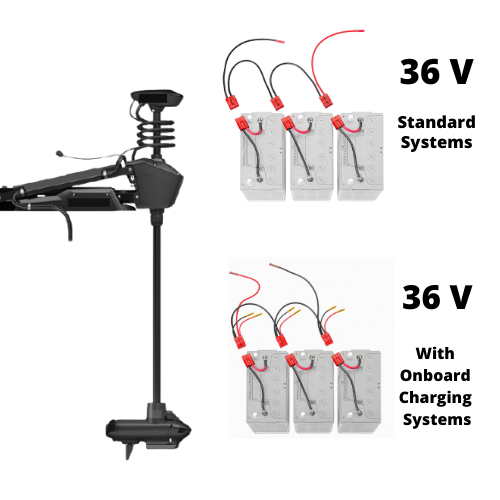 36V Trolling Motor Connections
