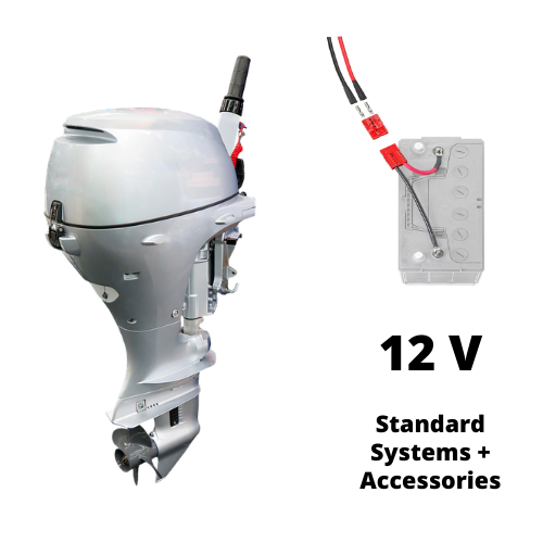 12V Outboard Motor Connections