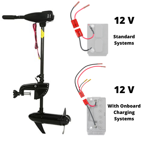 12V Trolling Motor Connections
