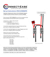 Outboard Motor Dual Battery Connection Kit 6 AWG - RCE12VBM6PK - Connect-Ease. Connect all your marine equipment with ease.