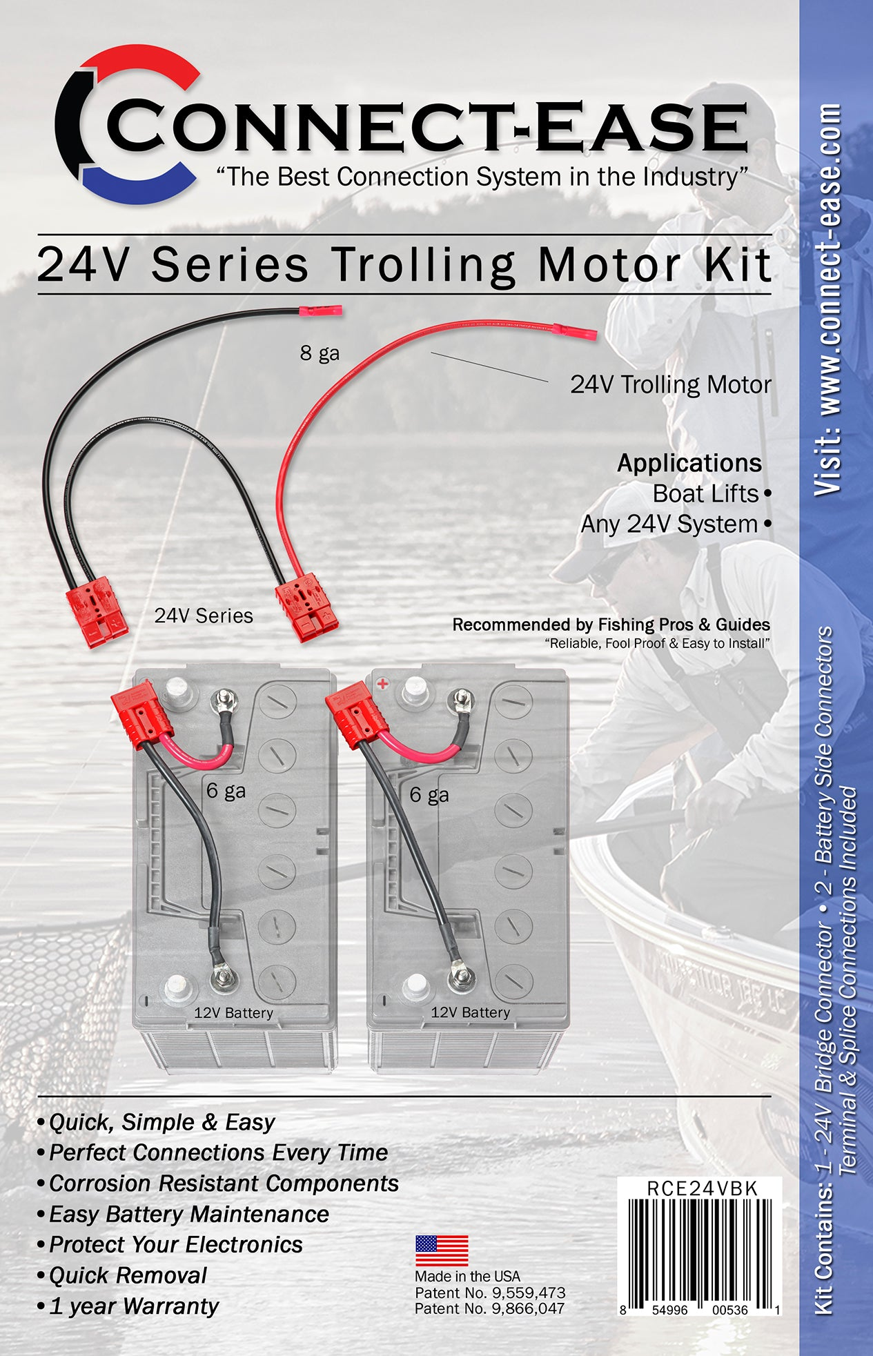 24 Volt Trolling Motor Connection Kit  With Out On